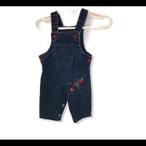 Infant 3-6 months Buster Brown airplane overalls